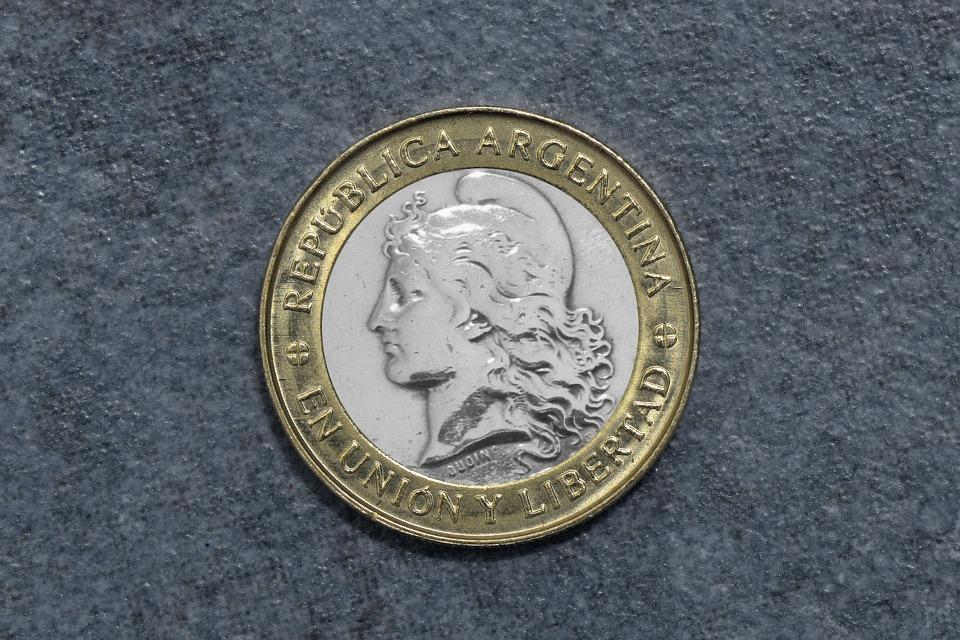 argentinská mince
