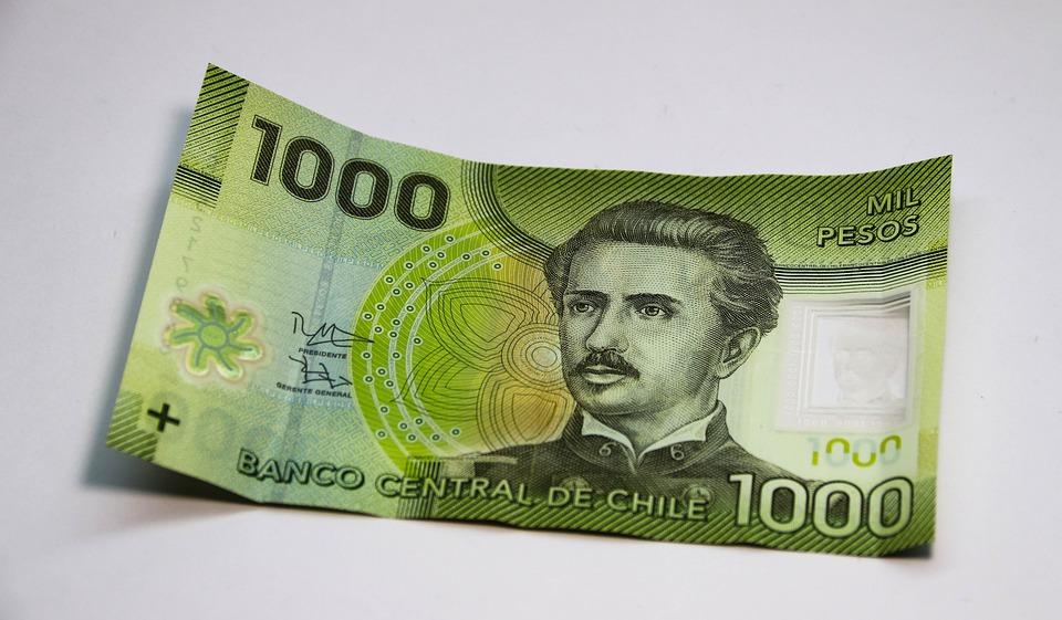 bankovka Chile