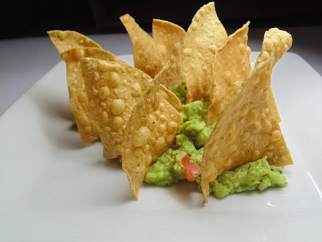 upravené nachos