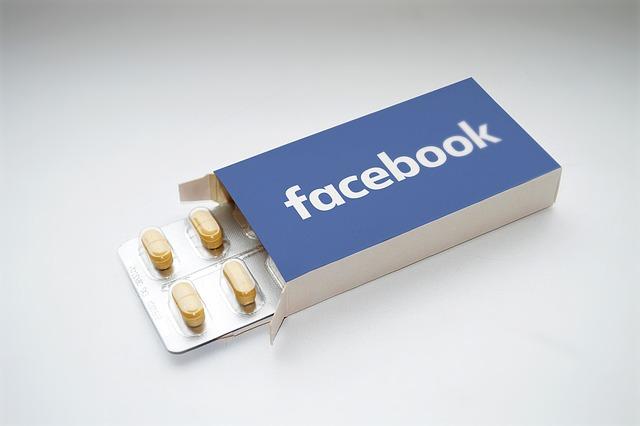 závislost facebook