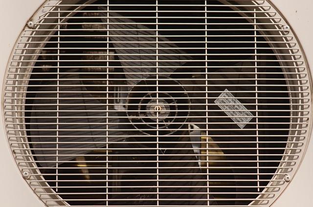 ventilátor v klimatizaci