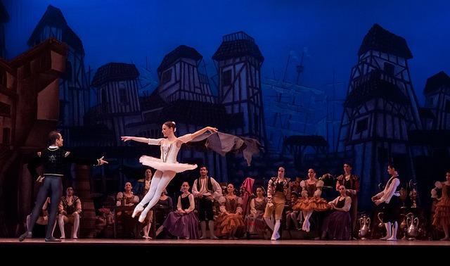 představení baletek