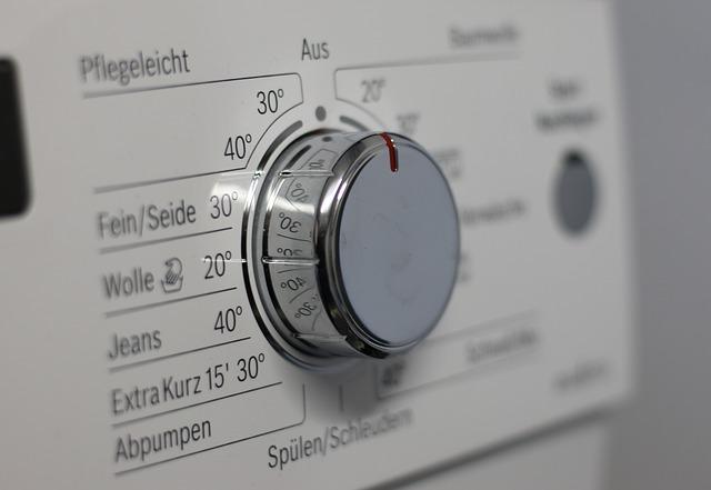 ovládání pračky